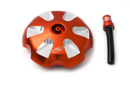 KTM 85 125 150 250 350 450 SX SXF SX-F 2013-2021 450 SMR 2021 ALUMINIUM PETROL FUEL GAS CAP ORANGE