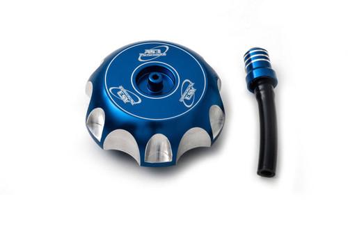TM MX EN 85 100 125 144 250 300 1999-2020 ALUMINIUM PETROL FUEL GAS CAP BLUE
