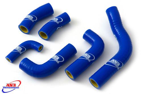 HUSABERG FE 250 350 2013-2014 HIGH PERFORMANCE SILICONE RADIATOR HOSES BLUE