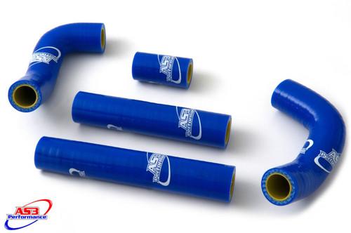 HUSQVARNA TE 250 300 2014-2016 HIGH PERFORMANCE SILICONE RADIATOR HOSES BLUE