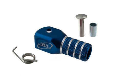 AS3 PERFORMANCE GEAR CHANGE LEVER SHIFTER REPLACEMENT TIP BLUE
