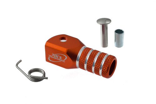AS3 PERFORMANCE GEAR CHANGE LEVER SHIFTER REPLACEMENT TIP ORANGE