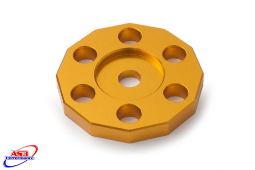SUZUKI RM RMZ 125 250 450 FUEL TANK MOUNT SPACER YELLOW