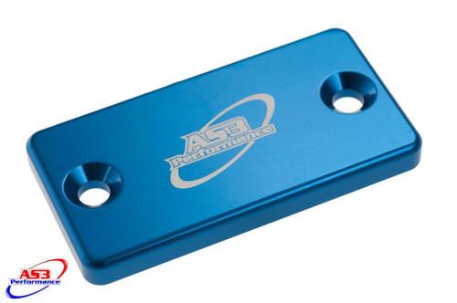 SUZUKI RM RMZ 60 65 80 85 125 250 450 1994-2020 FRONT BRAKE RESERVOIR COVER BLUE