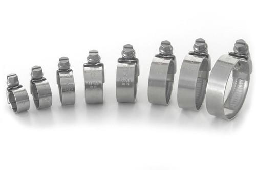 KTM 450 SXF SX-F 2011-2012 STAINLESS STEEL RADIATOR HOSE CLIPS CLIP KIT