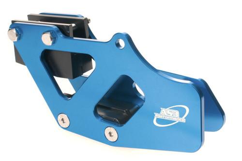 SUZUKI RM 125 250 2001-2008 RMZ 250 450 2005-2020 DRZ 400 2000-2019 ALUMINIUM CHAIN GUIDE BLUE