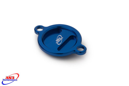 HUSQVARNA FC FE 250 350 2014-2020 FC FS 450 2016-2020 FE FX 450 501 2017-2020 OIL FILTER CAP COVER BLUE
