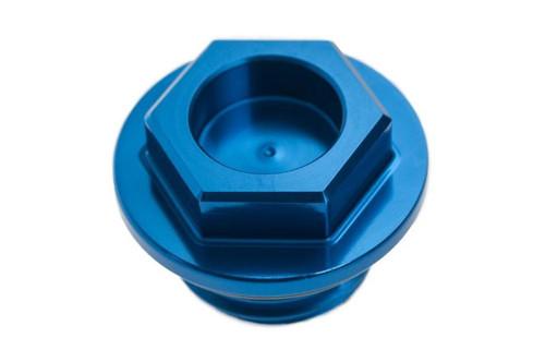 YAMAHA YZ YZF WR WRF 65 85 125 250 450 1999-2021 ALUMINIUM OIL FILLER PLUG BLUE