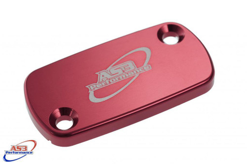 BETA 125 200 250 300 350 390 400 430 450 480 520 RR XTRAINER 2010-2020 FRONT BRAKE RESERVOIR COVER RED