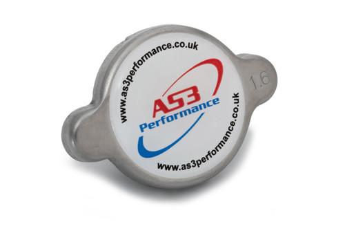 AS3 PERFORMANCE 1.6 BAR HIGH PRESSURE RADIATOR CAP