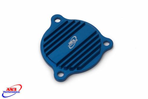 HUSABERG FE 250 350 450 501 2013-2014 OIL PUMP CAP COVER BLUE