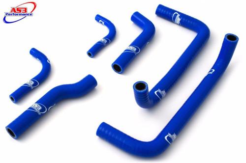 GAS GAS EC 125 200 250 300 2007-2012 HIGH PERFORMANCE SILICONE RADIATOR HOSES BLUE