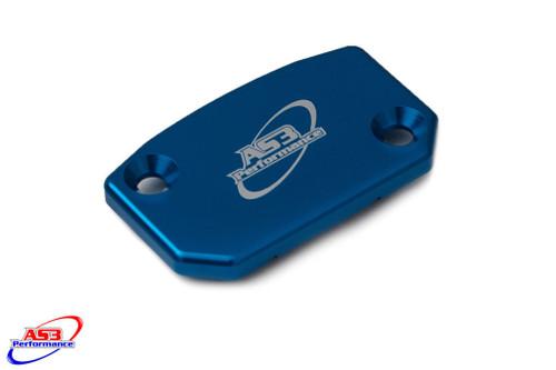 SHERCO SE SEF SE-F 250-510 2011-2021 FRONT BRAKE MASTER CYLINDER RESERVOIR COVER BLUE