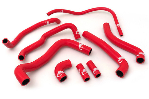 APRILIA RSV 1000 R 2004-2008 RSV 1000 R TUONO 2006-2010 SILICONE RADIATOR HOSES RED