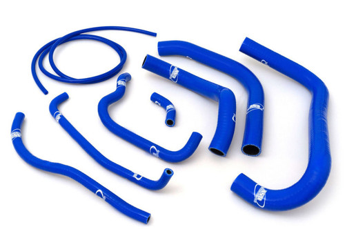 HONDA CBR 900 RR FIREBLADE 1994-1995 HIGH PERFORMANCE SILICONE RADIATOR HOSES BLUE