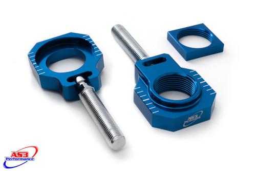 HUSQVARNA TC FC 125 250 350 450 14-15 TE FE TX FX 125 300 501 14-18 REAR AXLE BLOCKS BLUE