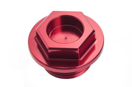 SUZUKI RMZ 250 2004-2006 CNC ALUMINIUM OIL FILLER PLUG RED
