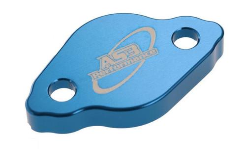APRILIA SXV RXV 450 550 2006-2012 REAR BRAKE MASTER CYLINDER RESERVOIR COVER BLUE