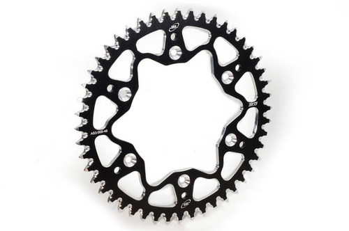 BETA 125 200 250 300 350 390 430 450 480 RR XTRAINER 2013-2020 AS3 7075 ALUMINIUM REAR SPROCKET 52T BLACK