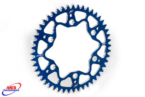 SHERCO SE-R 250 300 SEF-R 250 300 450 2013-2020 AS3 7075 ALUMINIUM REAR SPROCKET 48T BLUE