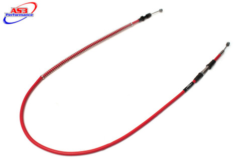 SUZUKI RM 80 89-01 RM 85 02-17 AS3 VENHILL FEATHERLIGHT CLUTCH CABLE RED