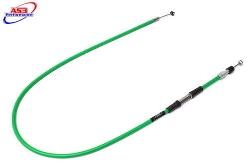 KAWASAKI KX 250 1999-2004 AS3 VENHILL FEATHERLIGHT CLUTCH CABLE GREEN