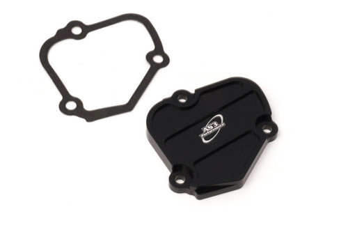HUSQVARNA TC 125 2016-2020 TX 125 TE 150 2017-2020 POWER VALVE CONTROL COVER BLACK