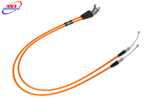 KTM 250 350 400 450 525 530 SXF EXC-F AS3 VENHILL FEATHERLIGHT THROTTLE CABLES