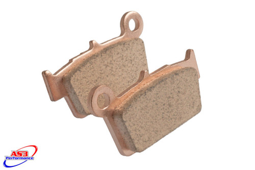 BETA 125 200 250 300 350 390 400 430 480 525 RR XTRAINER 2005-2020 AS3 FACTORY SINTERED REAR BRAKE PADS