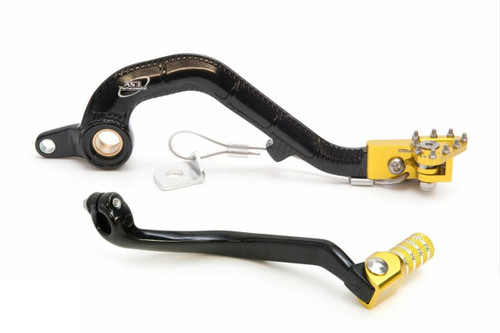 SUZUKI RM 250 2001-2008 FORGED GEAR LEVER & REAR BRAKE PEDAL COMBO SET