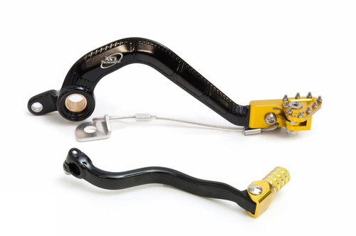 SUZUKI RM 85 2005-2020 FORGED GEAR LEVER & REAR BRAKE PEDAL COMBO SET