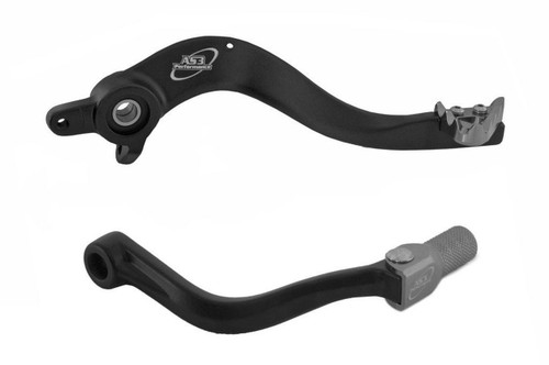 HUSABERG TE 250 300 2011-2014 AS3 FACTORY SERIES REAR BRAKE PEDAL and GEAR LEVER