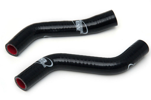 APRILIA RS4 125 2011-2017 HIGH PERFORMANCE SILICONE RADIATOR HOSES BLACK