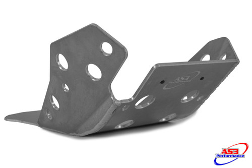 HUSQVARNA  TE 250 300 2017-2018 AS3 ALUMINIUM SKID PLATE SUMP BASH GUARD