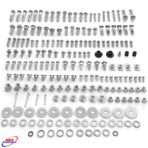 HONDA CR 125 250 2000-2008 CRF 250 450 2002-2020 AS3 PRO-PACK BOLT KIT