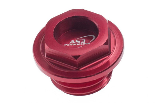BETA 125 200 250 300 RR XTRAINER 2018-2020 ALUMINIUM OIL FILLER PLUG RED