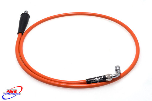 KTM 950 990 1090 1190 1290 ADVENTURE SUPERMOTO SUPER ENDURO 2003-2020 VENHILL CLUTCH LINE HOSE ORANGE
