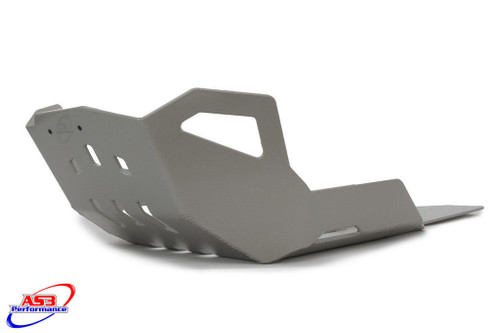BMW F 800 GS 2008-2016 ADVENTURE 12-18 AS3 PERFORMANCE ALUMINIUM SKID PLATE SUMP BASH GUARD SILVER