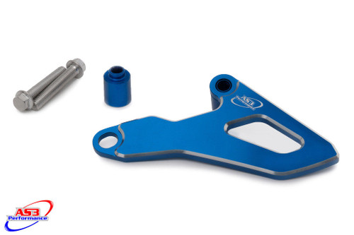 YAMAHA YZ 125 2005-2020 YZ 125 X 2020 AS3 ALUMINIUM FRONT SPROCKET GUARD COVER BLUE