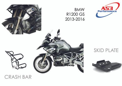 BMW R 1200 GS 2013-2016 AS3 PERFORMANCE CRASH BARS GUARDS