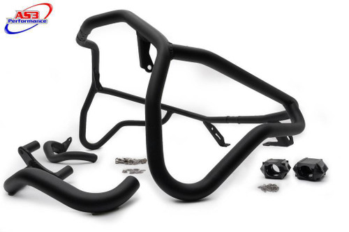 BMW F 800 GS ADVENTURE 2012-2018 AS3 PERFORMANCE CRASH BARS GUARDS BLACK