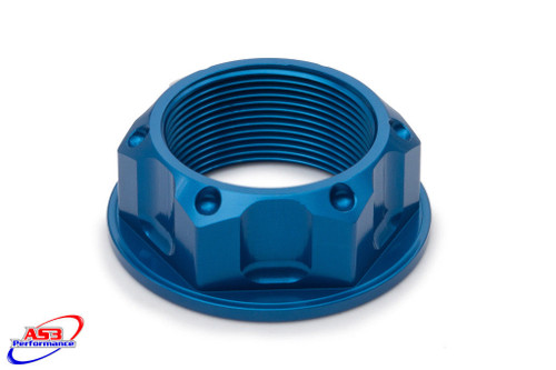 SUZUKI GSF BANDIT 600 95-04 650 09-10 1200 95-06 AS3 TOP YOKE STEERING STEM NUT BLUE