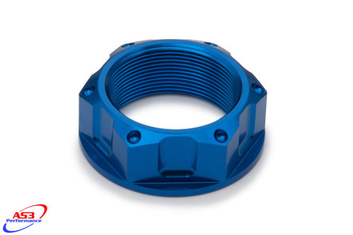 BMW S 1000 RR 10-18 S1000 RR HP4 12-14 AS3 TOP YOKE STEERING STEM NUT BLUE