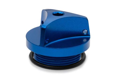 KAWASAKI GPZ 500 750 1000 1100 GPX 600 R AS3 PERFORMANCE OIL FILLER PLUG BLUE