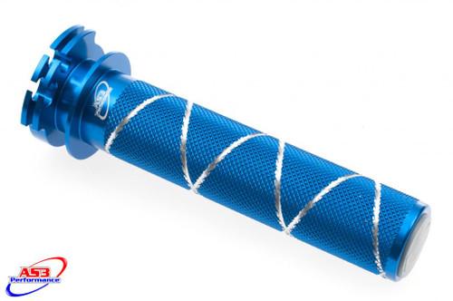 YAMAHA YZ-F 250 2001-2021 YZF 400 426 450 1998-2021 WRF 250 400 426 450 2001-2021 ALUMINIUM THROTTLE TUBE BLUE