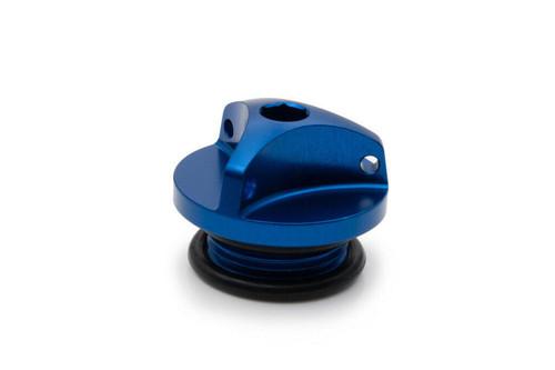 YAMAHA RD 125 250 350 LC RD 350 YPVS AS3 PERFORMANCE OIL FILLER PLUG BLUE