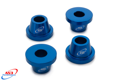 YAMAHA YZF 250 450 2014-2020 WRF 250 2015-2020 WRF 450 2016-2020 AS3 BAR MOUNT CLAMP YOKE CONES SPACERS BLUE