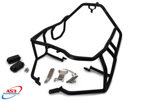 BMW R 1150 GS ADVENTURE 2002-2006 AS3 PERFORMANCE CRASH BARS GUARDS BLACK