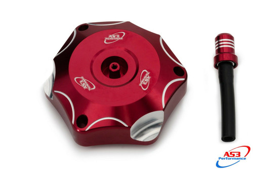 BETA 250 300 350 390 430 480 RR XTRAINER 2013-2018 AS3 PETROL FUEL GAS CAP RED