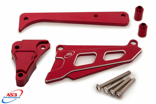 BETA 250 300 350 390 480 RR XTRAINER AS3 FRONT SPROCKET GUARD COVER CASE SAVER RED